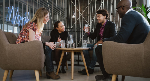 Create a workplace where guests feel welcome