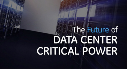 eBook: The Future of Data Center Critical Power