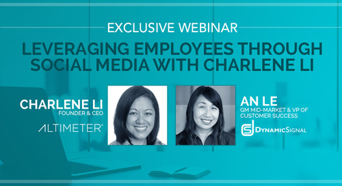Leveraging Employees through Social Media with Charlene Li