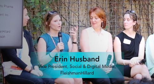 Understanding Company Culture is Essential for a Successful Program [Erin Husband, FleishmanHillard]