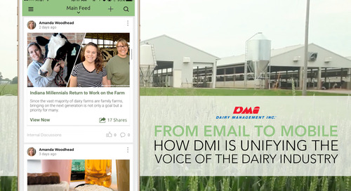 From Email To Mobile: How DMI Is Unifying The Voice Of The Dairy Industry