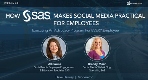 How SAS Makes Social Media Practical for Employees