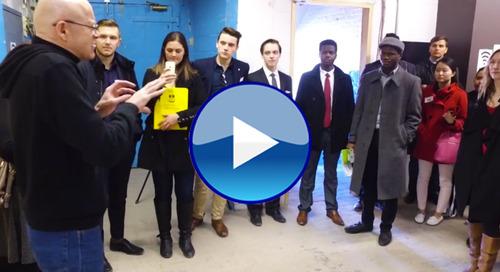 VIDEO: Student Entrepreneurs Tour Winnipeg's Booming Startup Scene