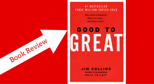 """Business Book Review: Best Selling """"Good to Great"""" by Jim Collins"""