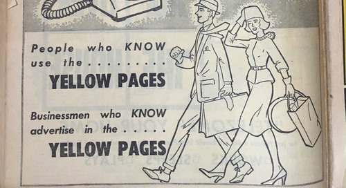1962 Yellow Pages: How the office has changed over 50 years