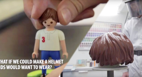 44% of kids don't wear bike helmets, but this design could change their minds