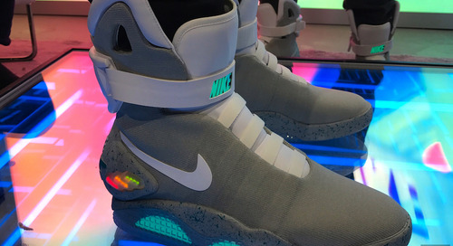 Back to the Future of Shoes: Self-lacing sneakers are here