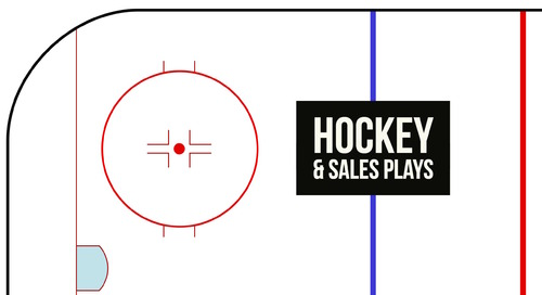 Hockey lessons: Selling is a team sport