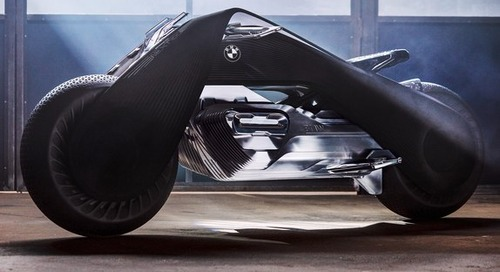New BMW concept motorcycle unveiled...and it's magnificent