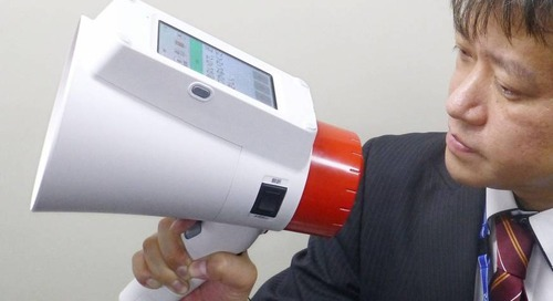 Amazing megaphone that automatically translates what you say