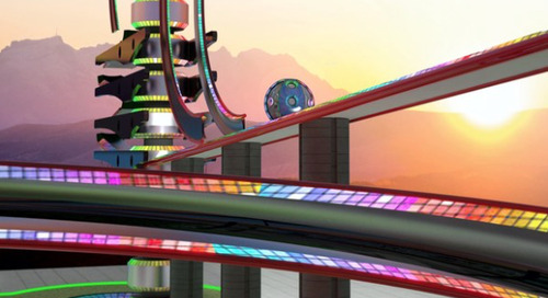 Would you ride this futuristic roller coaster?