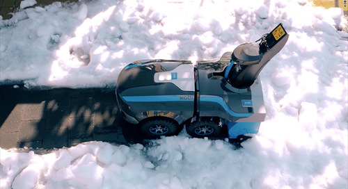 Now there's a robot that can shovel your driveway