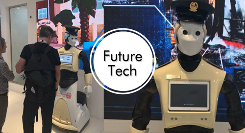 Future Tech: Robot cops, solar water taxis & computer gamers