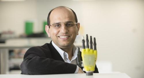 Healthcare tech: Solar-powered prosthetic skin provides sense of touch