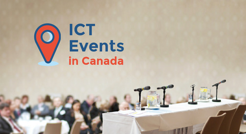 Mark your calendar for these Canadian ICT events