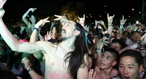 Steve Aoki Closes Out 2016