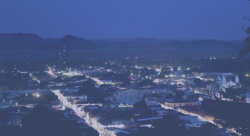 Sonsonate cambia su sistema de alumbrado público a tecnología LED