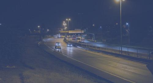 Las autopistas de Buenos Aires estrenan iluminación inteligente