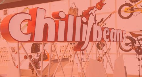 Current, powered by GE lleva modernidad a la tienda concepto de Chilli Beans