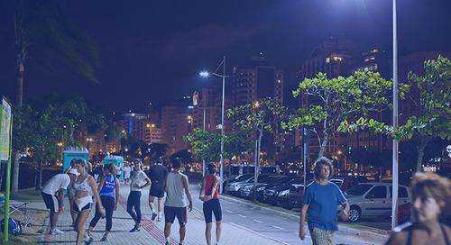 Florianópolis gana iluminación LED en su aniversario