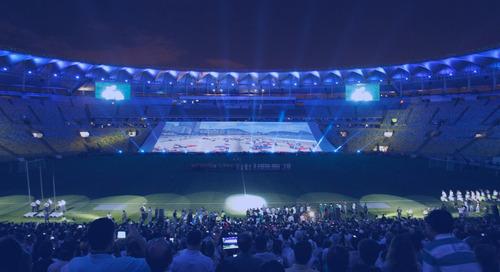 El estadio Maracaná brillará para la Copa Mundial Brasil 2014