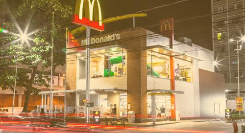 McDonald's adopta tecnología LED de GE en 40 unidades brasileñas