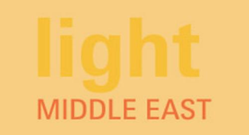 Iluminación en Oriente Medio 2012