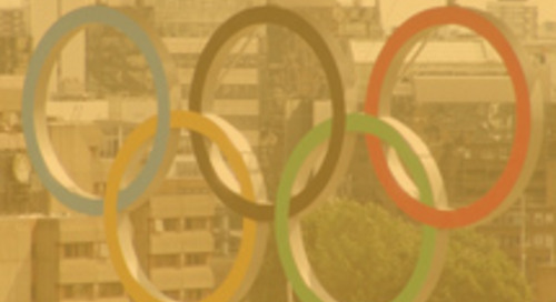 Se dieron a conocer los anillos olímpicos en el Tower Bridge