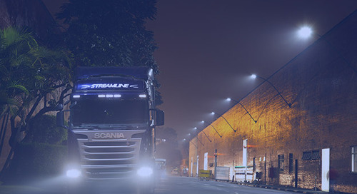 Scania apuesta en iluminación eficiente