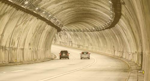 LEDs de GE iluminan túneles de Ecovias y Ecopistas