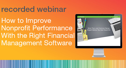 How to Improve Nonprofit Performance with the Right Financial Management Software