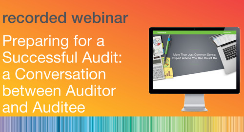Preparing for a Successful Audit: a Conversation between Auditor and Auditee