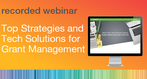 Top Strategies and Tech Solutions for Grant Management