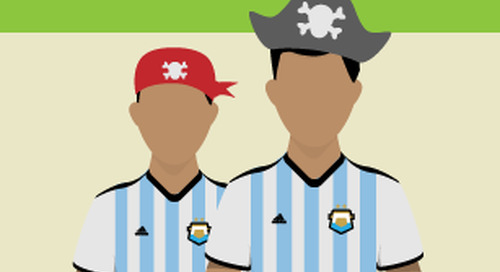 Infographic: Piracy on the pitch: The 2014 World Cup in illegal streams