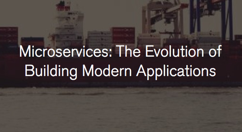 Background behind microservices, their advantages, and how new technologies, like MongoDB, enable them