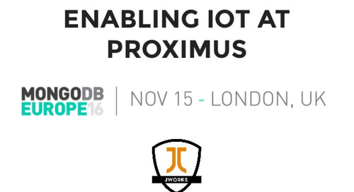 Enabling the Internet of Things at Proximus - Belgium's Largest Telecoms Company