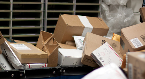 Packages from Amazon and Other Online Purchases Overwhelm UConn Campus Mailroom
