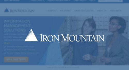 Iron Mountain Uses a Single Assessor for Agile Expansion