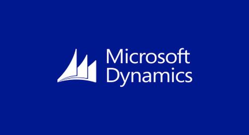 Microsoft Dynamics Integration Walkthrough