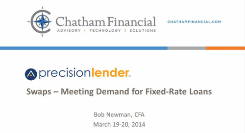 Hedging and Interest Rate Swaps