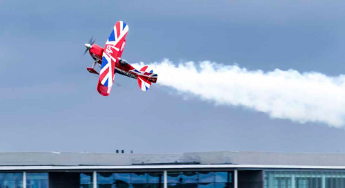 GES Has Supported Farnborough International Airshow for More Than 20 Years