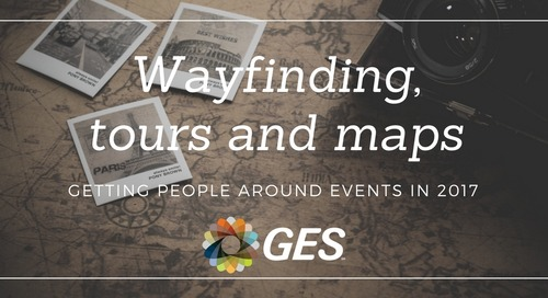 Wayfinding, tours and maps - getting people around events in 2017