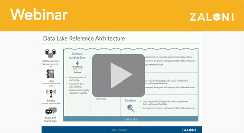 The Four Zones of Data Lake Architecture