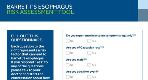 Barrett's Esophagus: Patient Risk Assessment Tool