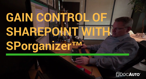 Video: Gain Control of SharePoint