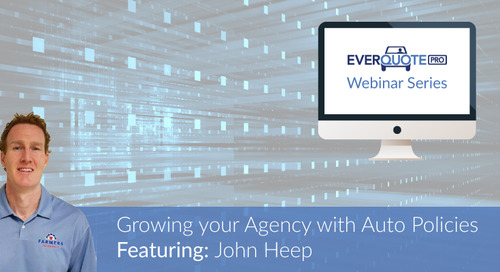 Driving agency growth through auto Policies: The Story of John Heep.