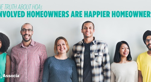 The Truth about HOAs: Involved Homeowners are Happier Homeowners