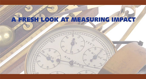 A Fresh Look At Measuring Impact