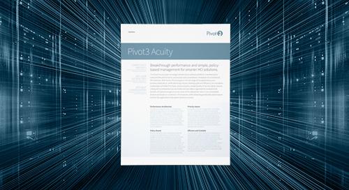 [Data sheet] Pivot3 Acuity Datasheet
