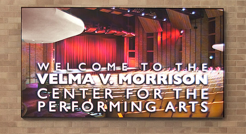 Boise State's Velma V. Morrison Center Puts NanoLumens Center Stage